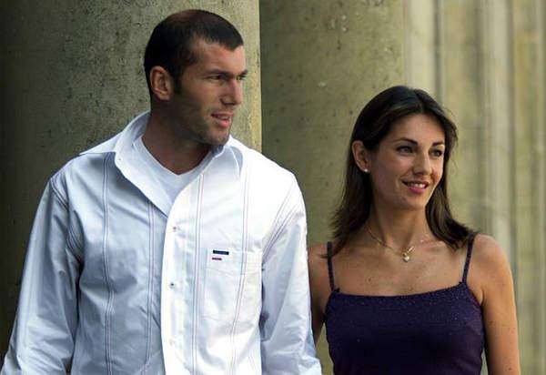 Zidane與老婆大人
