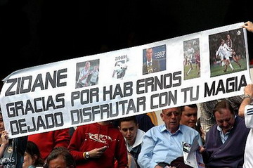 Gracias! Zidane!