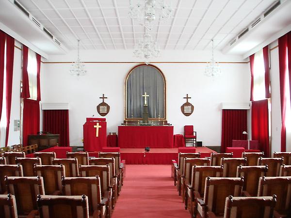 官邸內居然有教堂