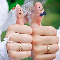 婚紗道具婚戒