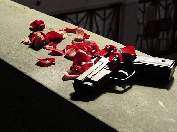 外拍主題:槍與玫瑰