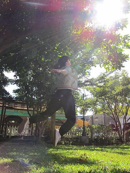 跳躍系列-迎向陽光