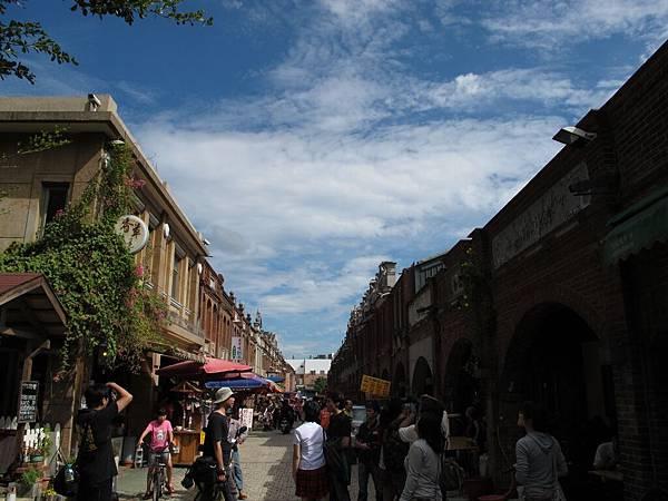 花絮:老湖口老街,天空好美