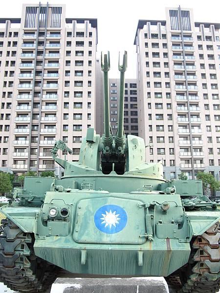 823砲戰紀念公園-M42雙管防空砲車
