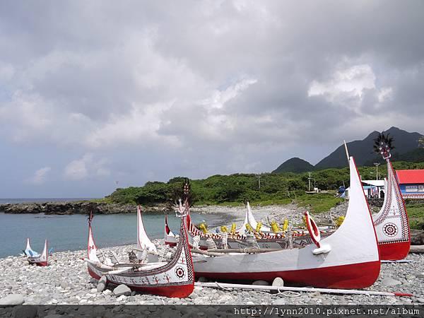 P1120794蘭嶼 郎島部落的拼板舟