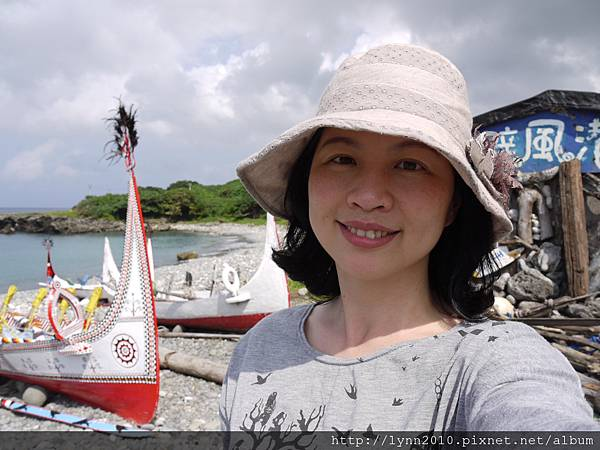 P1120796蘭嶼 郎島部落的拼板舟