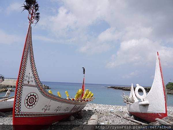 P1120803蘭嶼 郎島部落的拼板舟