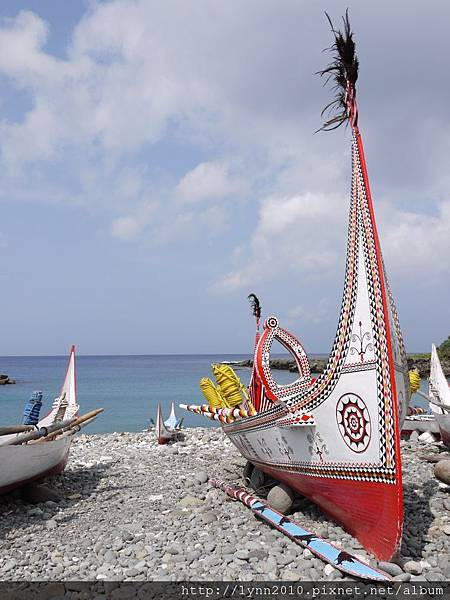 P1120804蘭嶼 郎島部落的拼板舟