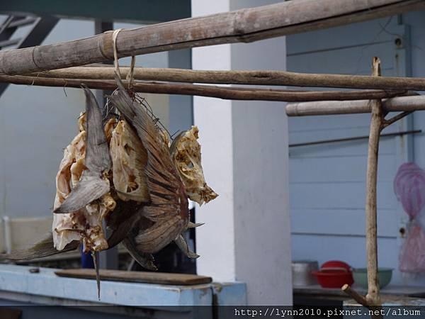 P1120858蘭嶼 東清部落 曬魚乾
