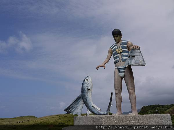 P1120982蘭嶼-青青草原 最早發現小蘭嶼的雅美人