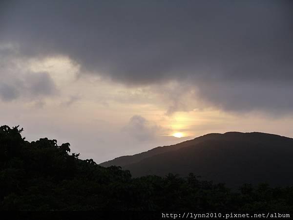P1130325蘭嶼 氣象局夕陽
