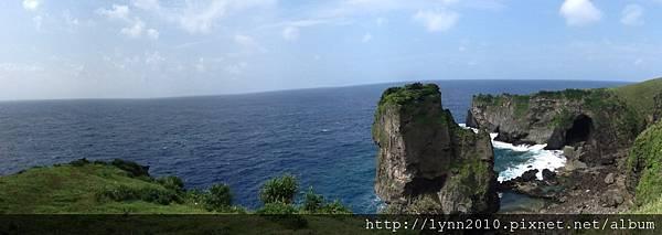 P1130486-蘭嶼青青草原 面海