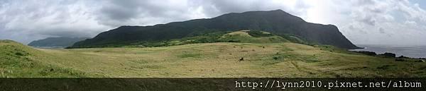 P1130486-蘭嶼青青草原面山景