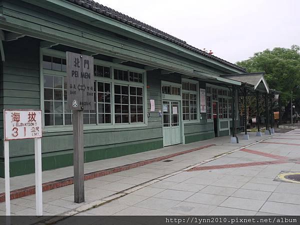 嘉義北門車站-大門口