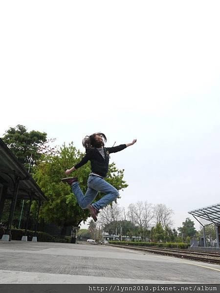 嘉義北門車站-跳