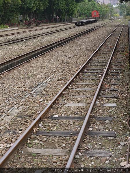 嘉義北門車站-鐵軌