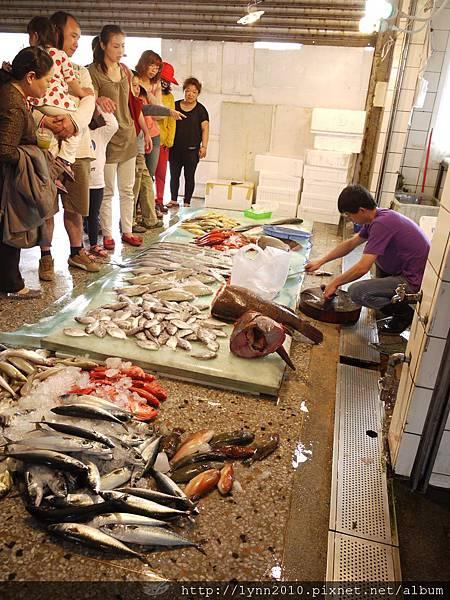 梧棲觀光漁港 新鮮的魚獲