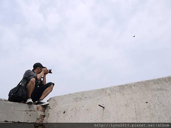 梧棲觀光漁港 攝影師的拼命