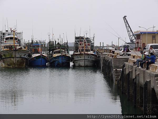 梧棲觀光漁港 釣客&漁船