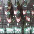 梧棲觀光漁港 冰箱中的 啤酒