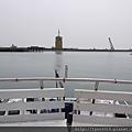 梧棲觀光漁港 觀光船上