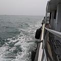 梧棲觀光漁港  破浪