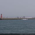 梧棲觀光漁港  紅燈塔
