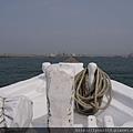 梧棲觀光漁港  羅絲與傑克想必就是站在這船頭