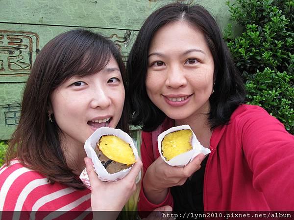 陽明山竹子湖-烤番薯