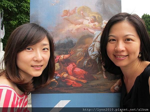 故宮羅浮宮珍藏展-就是愛自拍