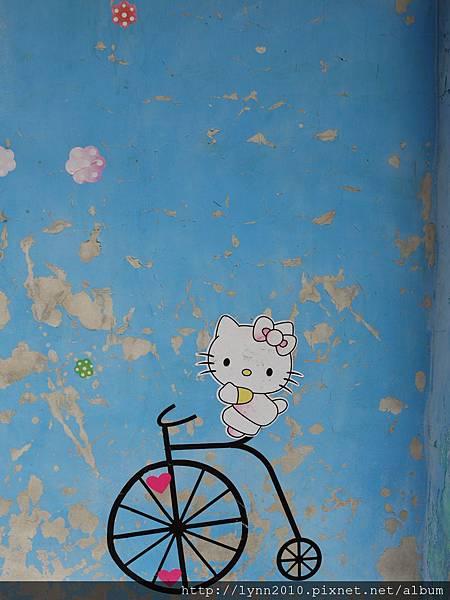 一片彩繪牆-南庄老街