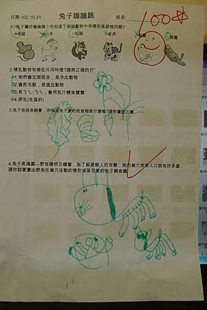 守宮兔子學習單+紫蛇目蝶蛹 007