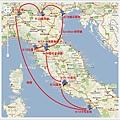 義大利地圖