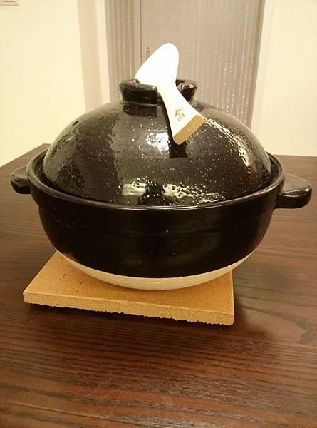 長谷園伊賀燒3合炊飯鍋