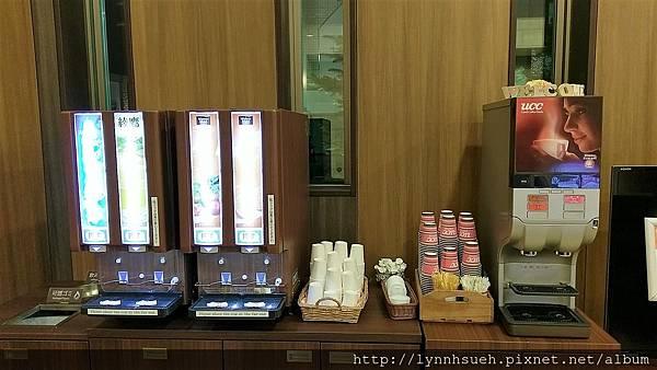 Vessel Inn Sapporo Nakajima Park大廳免費飲料吧