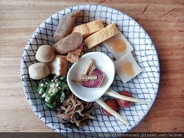 釜飯套餐小菜-「由布まぶし 心」