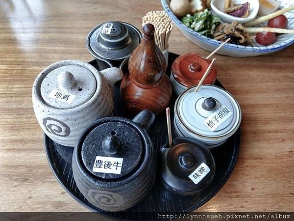 釜飯套餐醬料-「由布まぶし 心」