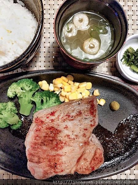 高千穗牛レストラン和-共進会入賞牛排套餐(150g,9,000円)