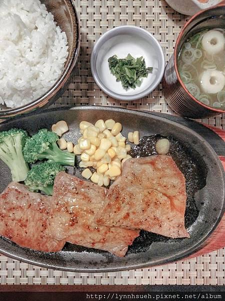 高千穗牛レストラン和-沙朗牛排套餐(150g,4,400円)