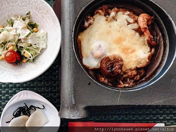 海鮮燒咖哩套餐-三井俱樂部