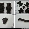 小熊造型巧克力