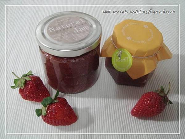 草莓果醬成品