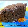 巧克力蛋糕切面