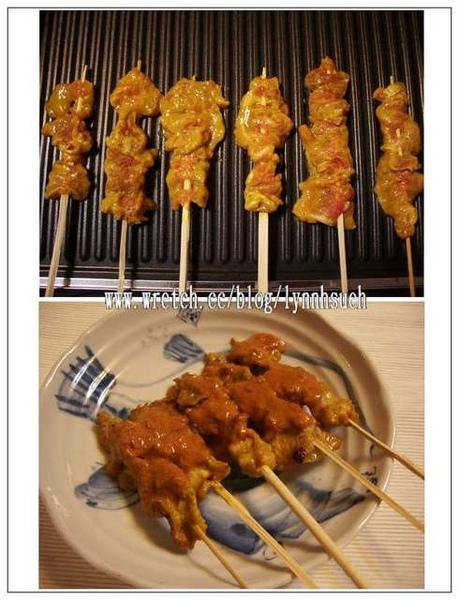 沙嗲豬肉串