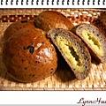 黑芝麻奶酥麵包