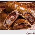 芝麻火腿cheese麵包