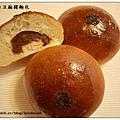 酒種紅豆麻糬麵包
