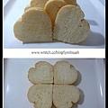 心形麵包(第3次試作成品)