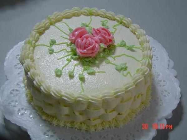 雙層蛋糕之上層