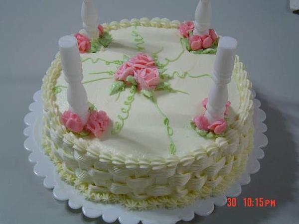 雙層蛋糕之下層